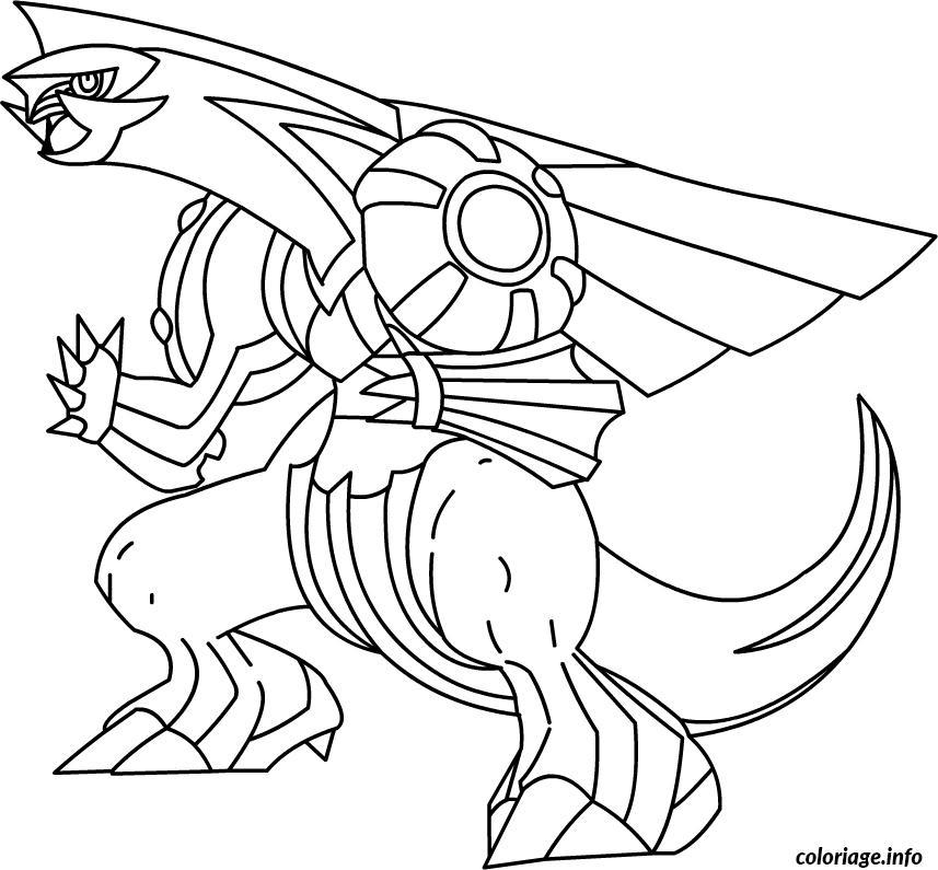 Dessin pokemon x ex 17 Coloriage Gratuit à Imprimer