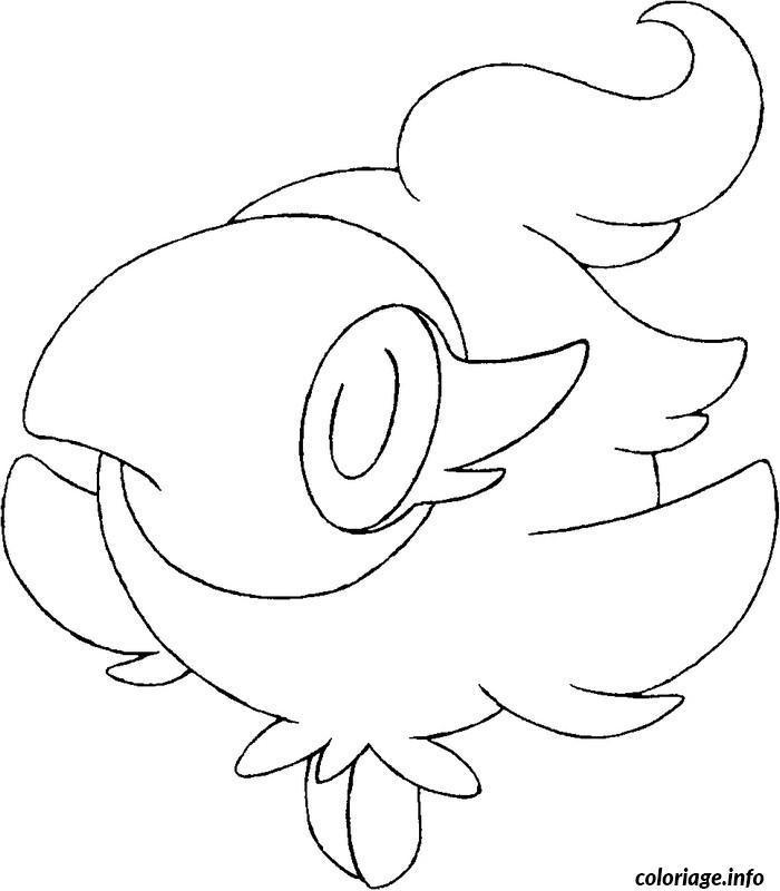 Dessin pokemon x ex 33 Coloriage Gratuit à Imprimer