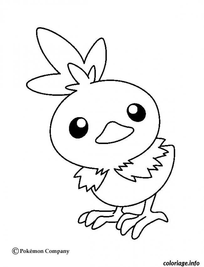 Dessin pokemon x ex 34 Coloriage Gratuit à Imprimer