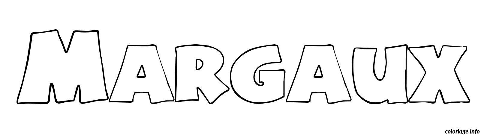 Coloriage margaux dessin - Dessin de prenom ...
