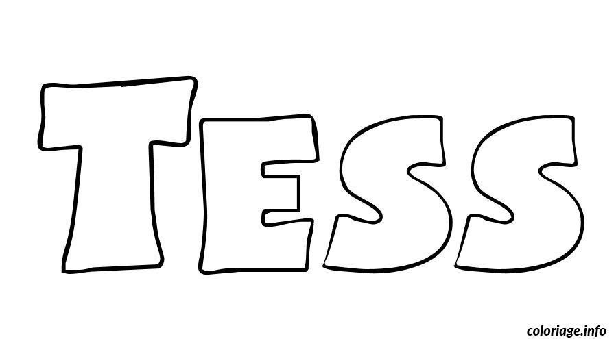 tess coloriage dessin 3302