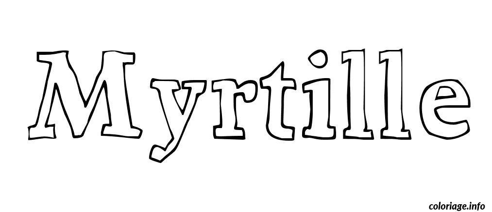 myrtille coloring pages - photo#12