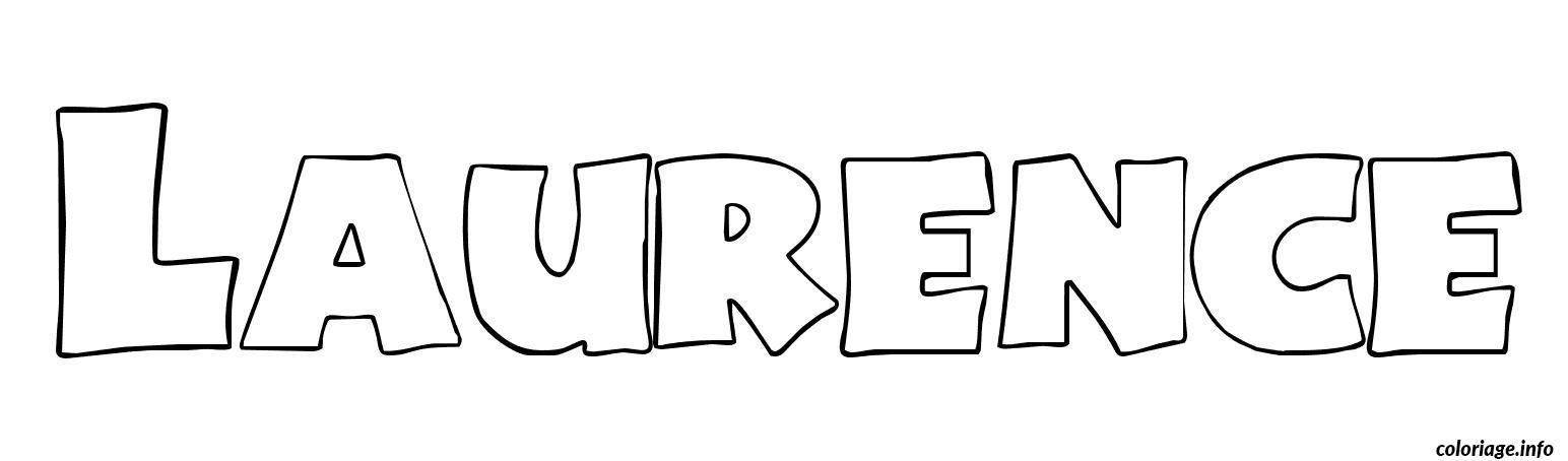 Coloriage laurence dessin - Tag prenom gratuit ...