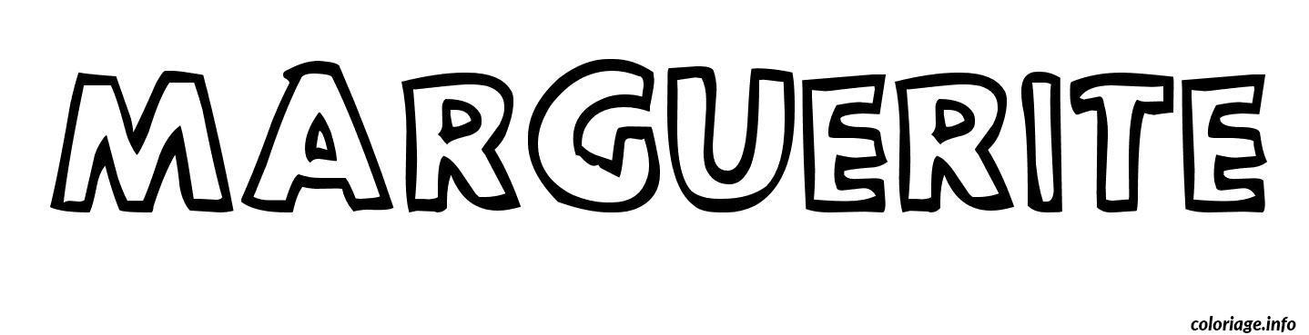 marguerite coloriage dessin 4964