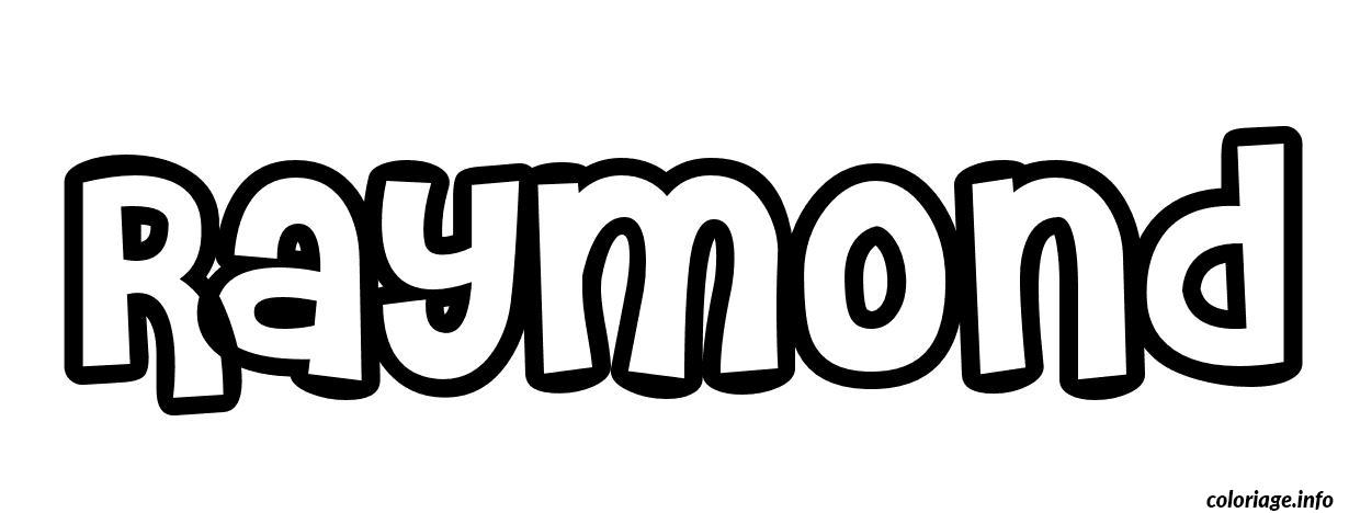 Dessin Raymond Coloriage Gratuit à Imprimer