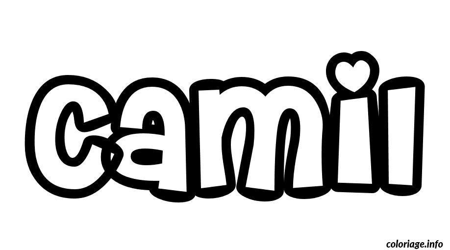 Coloriage camil dessin - Camille dessin ...