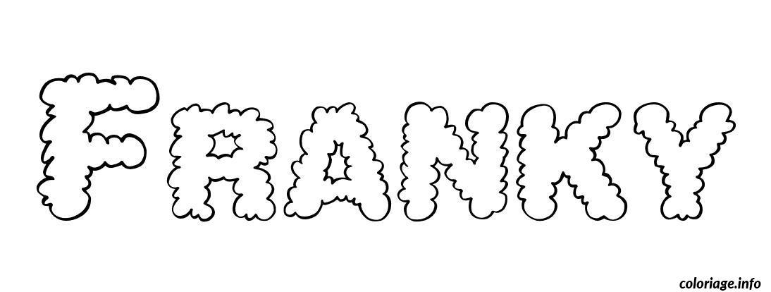 Coloriage franky dessin - Coloriage franky le robot ...