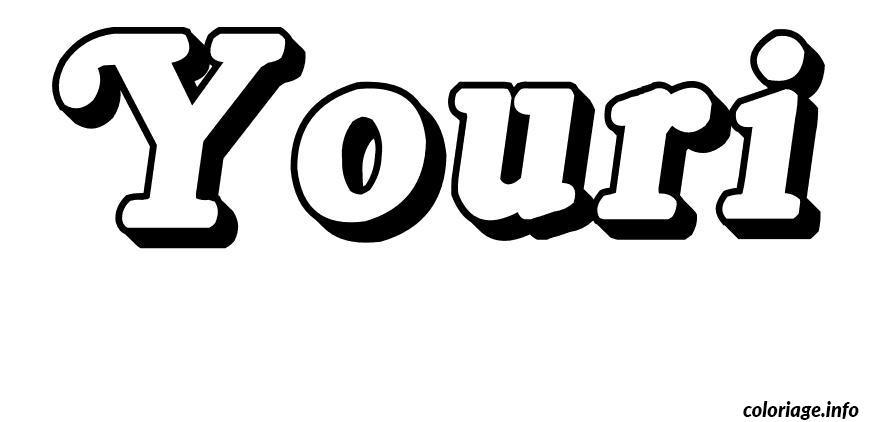 Dessin Youri Coloriage Gratuit à Imprimer
