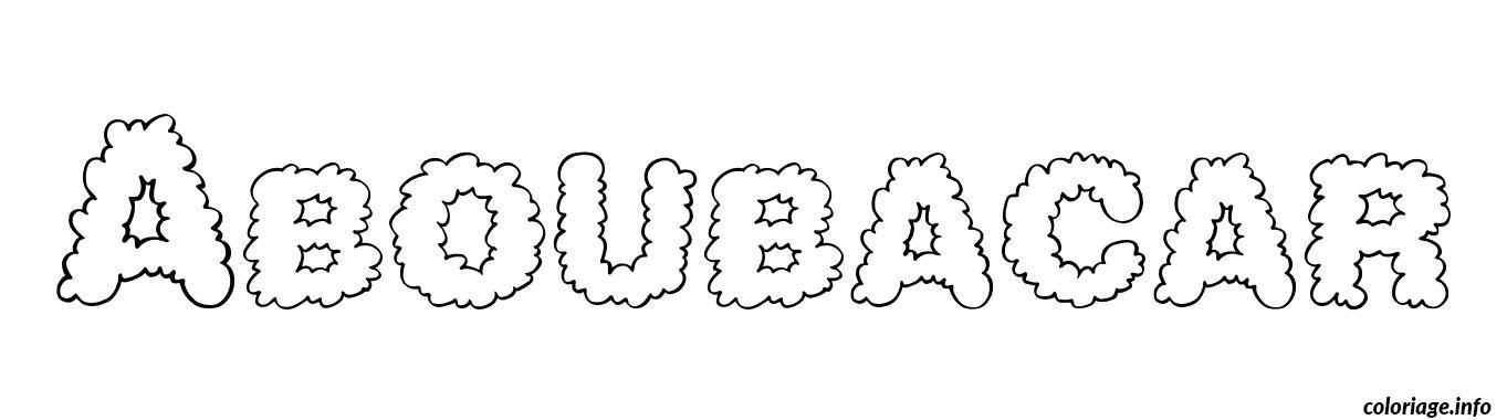 Dessin Aboubacar Coloriage Gratuit à Imprimer
