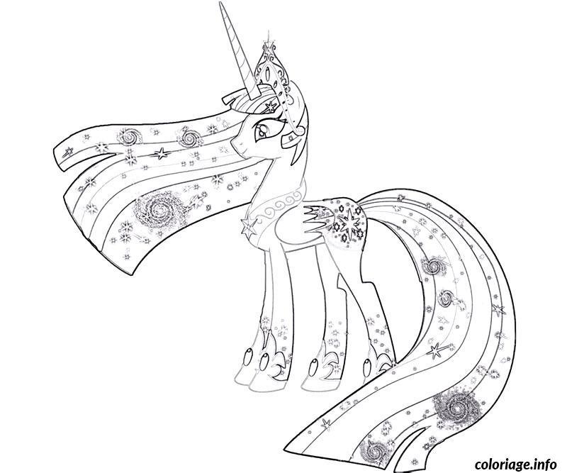Dessin my little poney 24 Coloriage Gratuit à Imprimer