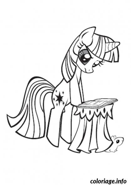 Dessin my little poney 3 Coloriage Gratuit à Imprimer