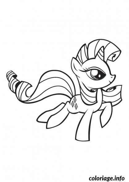 Coloriage My Little Poney 25 Dessin à Imprimer
