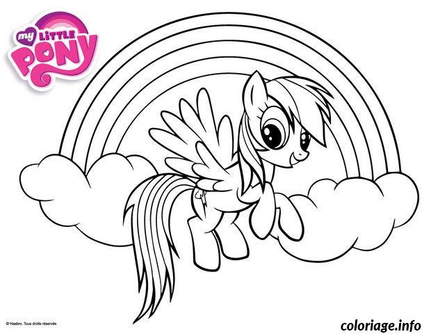 Coloriage My Little Poney 8 Dessin