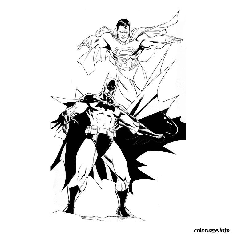 Coloriage superman batman dessin - Photo de spiderman a imprimer gratuit ...