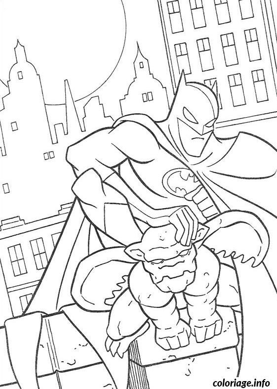 Dessin batman spiderman Coloriage Gratuit à Imprimer