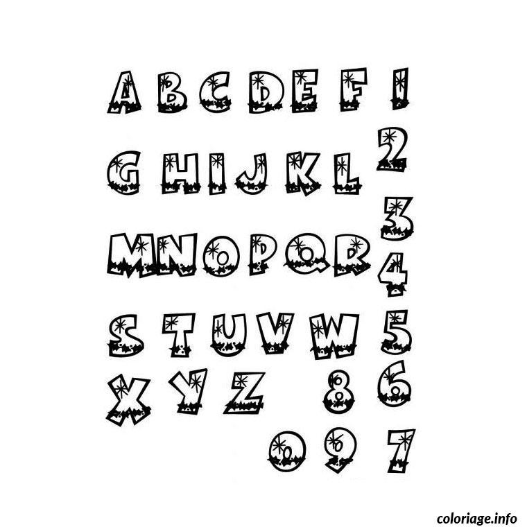 Coloriage alphabet maternelle dessin - Alphabet francais maternelle ...