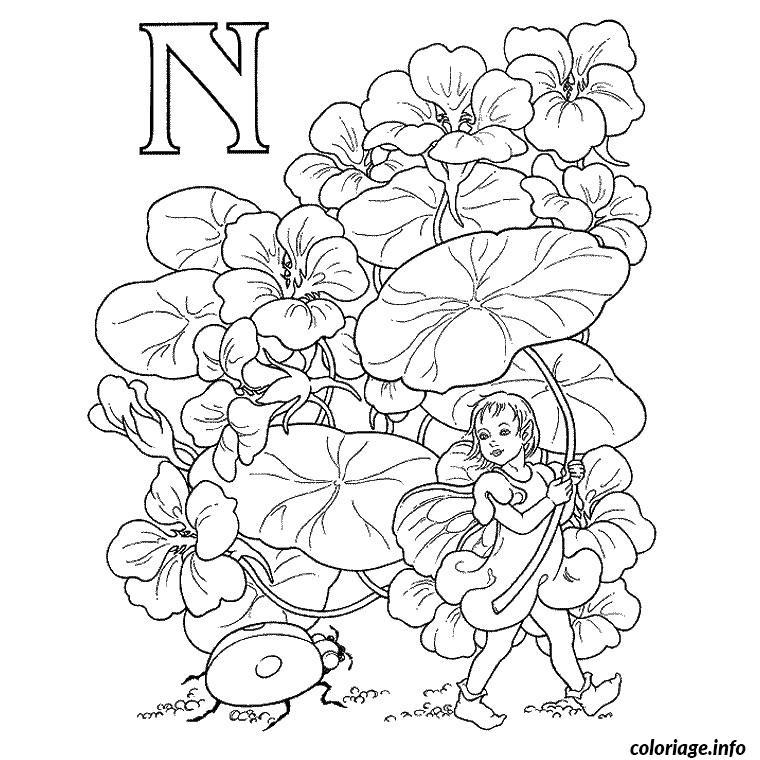Coloriage alphabet elfe dessin - Coloriage elfe ...