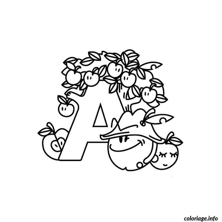 Coloriage alphabet halloween - Alphabet coloriage ...