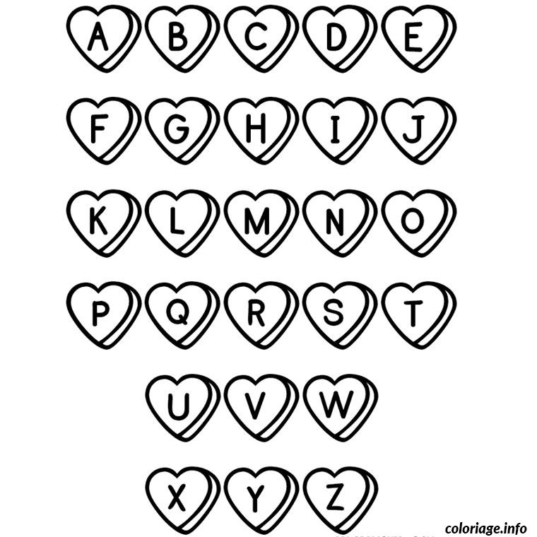 coloriage lettre alphabet dessin. Black Bedroom Furniture Sets. Home Design Ideas