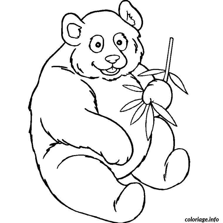 Coloriage bebe panda - Panda coloriage ...