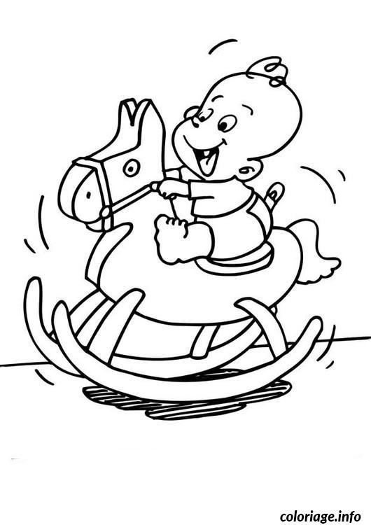 Coloriage bebe cheval dessin - Imprimer un cheval ...