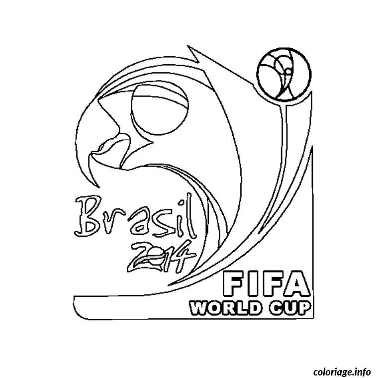 Coloriage coupe du monde 2014 - Coloriage ballon foot ...