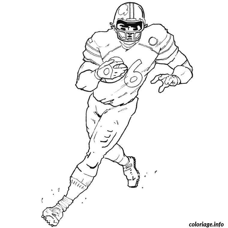 Coloriage Football Americain.Coloriage Foot Americain Jecolorie Com