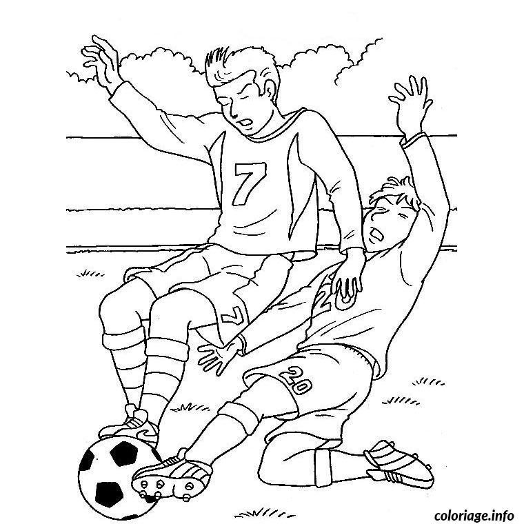 Coloriage foot mondial dessin - Image de joueur de foot a imprimer ...