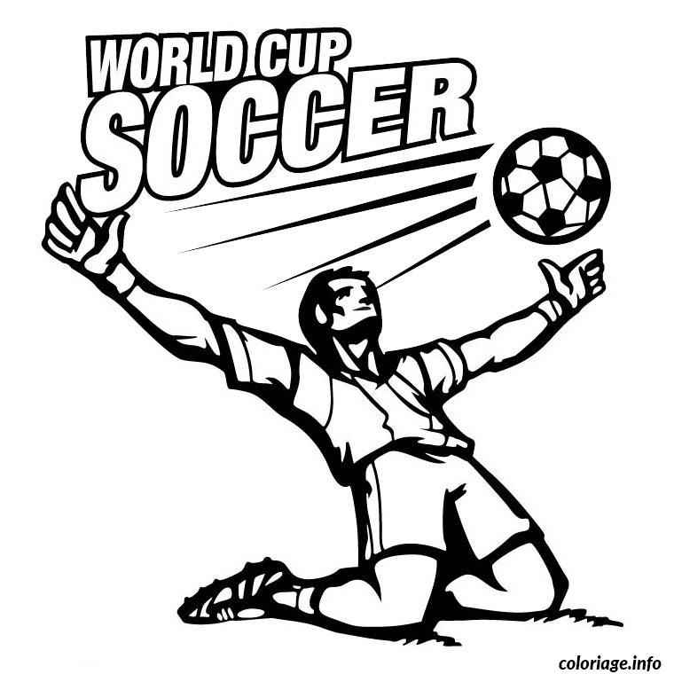 Coloriage Foot Coupe Du Monde dessin
