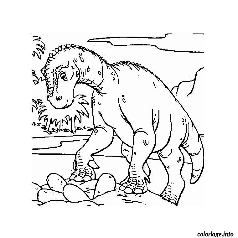 Coloriage oeuf de dinosaure - Dessins de dinosaures ...