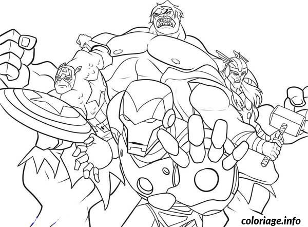 Coloriage colouring pages avengers 2 dessin - Coloriage avengers 2 ...