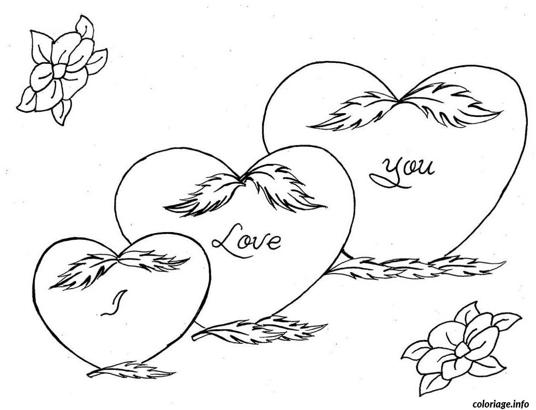 Coloriage Dessin Amour 72 Dessin Amour Coeur A Imprimer
