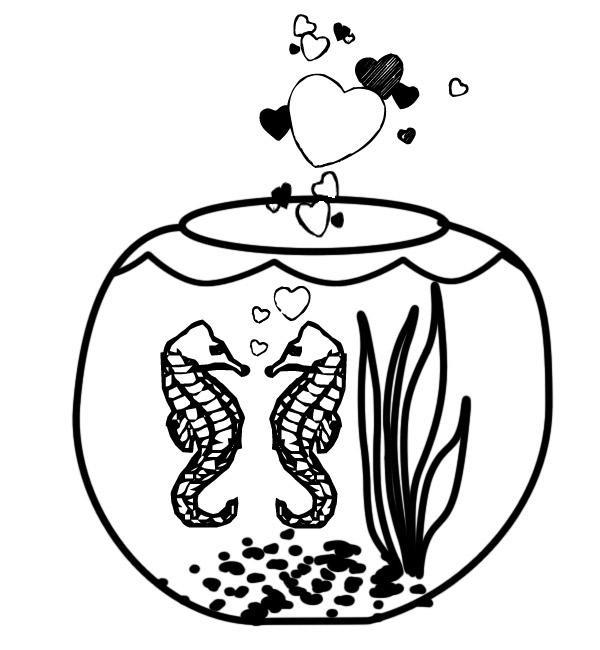 Coloriage dessin saint valentin 119 - Dessin st valentin a imprimer ...