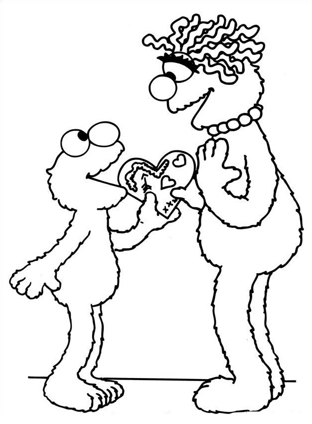 Coloriage dessin saint valentin 127 dessin - St valentin dessin ...