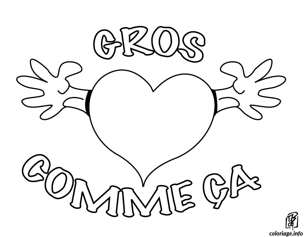 dessin saint valentin 116 coloriage 8491