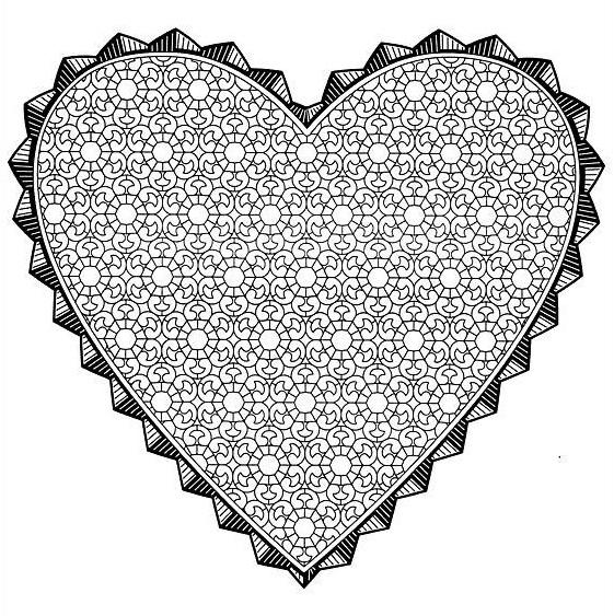 Dessin dessin saint valentin 27 Coloriage Gratuit à Imprimer