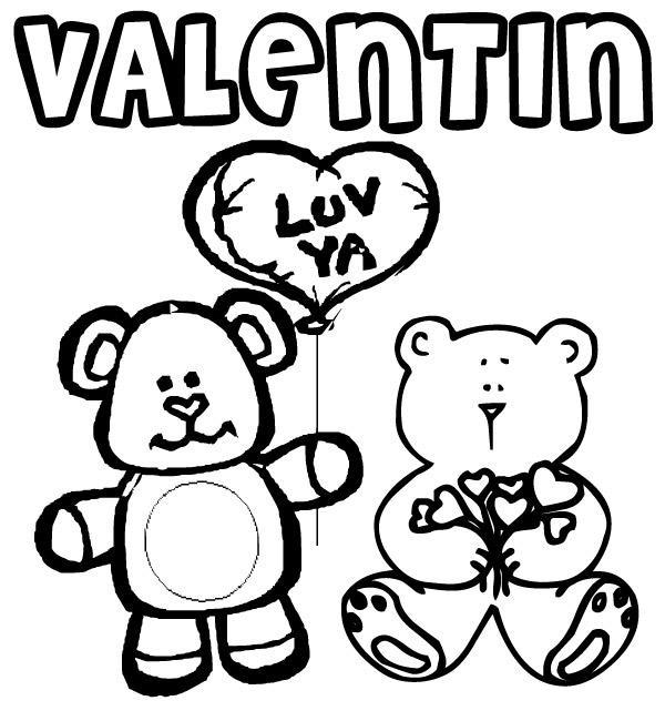 Coloriage dessin saint valentin 22 - St valentin dessin ...