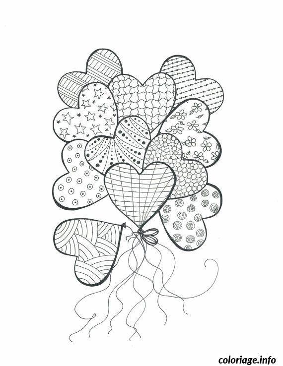 Dessin dessin saint valentin 50 Coloriage Gratuit à Imprimer