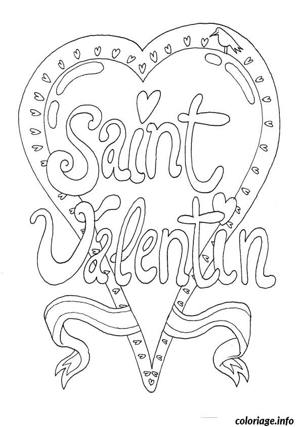 Coloriage dessin saint valentin 31 dessin - St valentin dessin ...