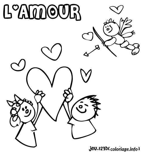 Dessin dessin saint valentin 35 Coloriage Gratuit à Imprimer