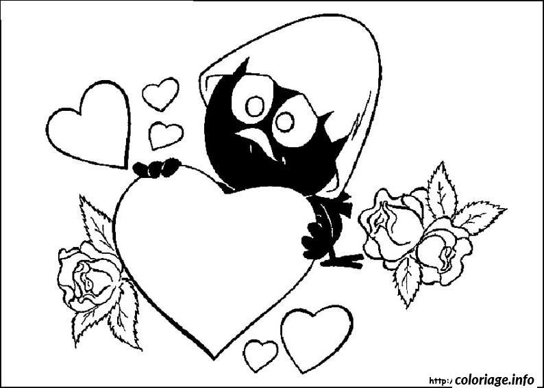 Dessin dessin saint valentin 34 Coloriage Gratuit à Imprimer