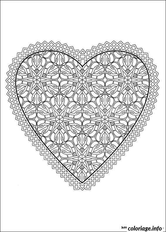 Dessin dessin saint valentin 82 Coloriage Gratuit à Imprimer