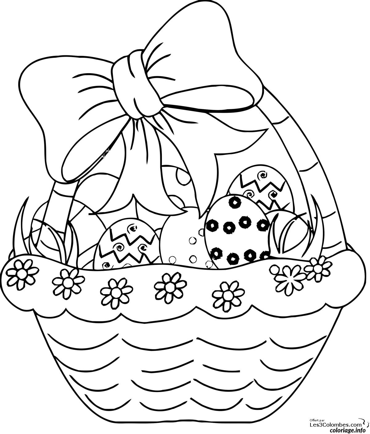 Coloriage dessin paques 30 dessin - Jeux de coloriage de paques ...