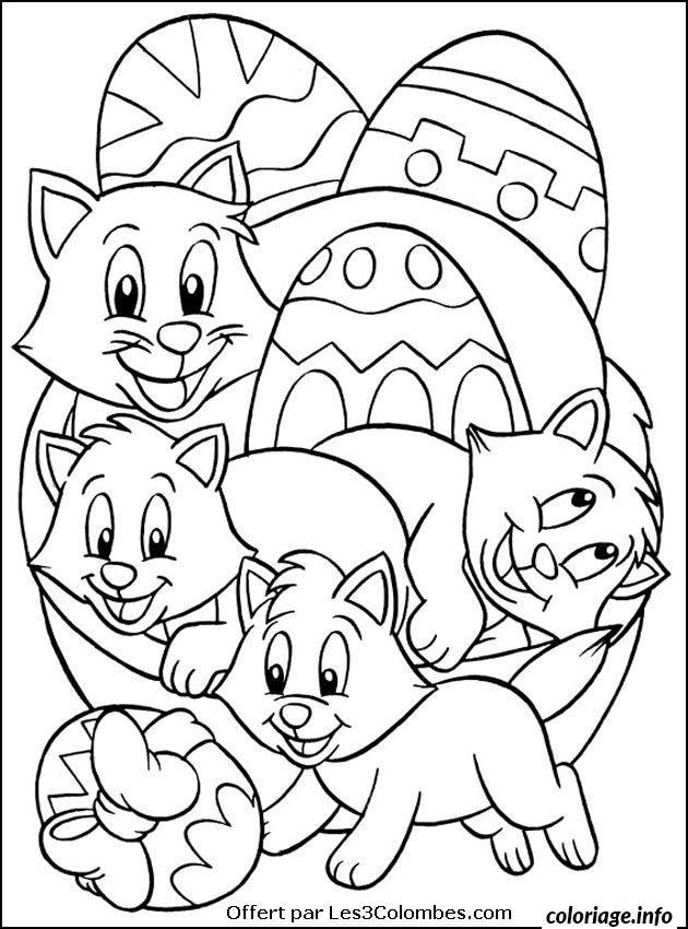 Coloriage Dessin Paques 115 dessin
