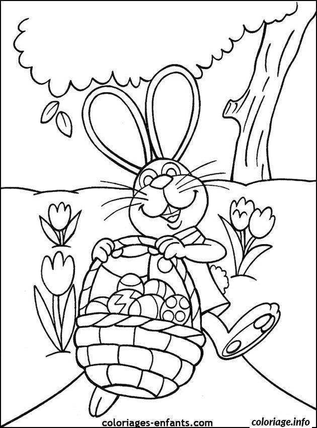 Coloriage Dessin Paques 83 dessin