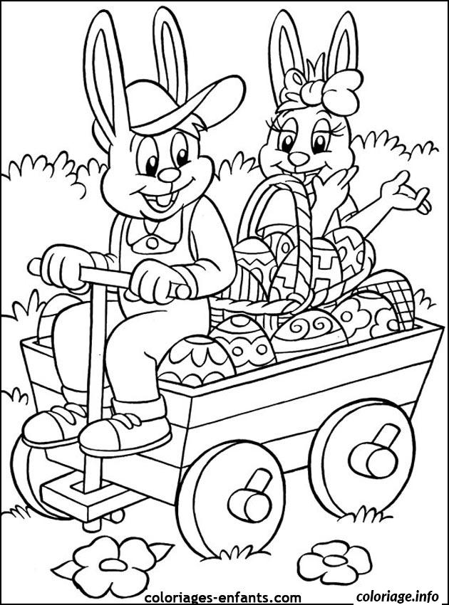 coloriage dessin paques 42 dessin