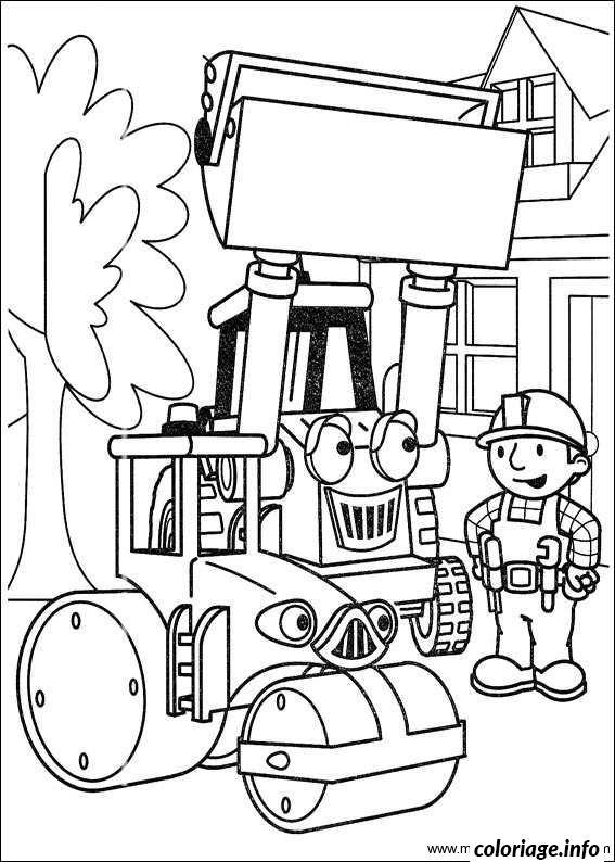 Dessin dessin bob le bricoleur 74 Coloriage Gratuit à Imprimer