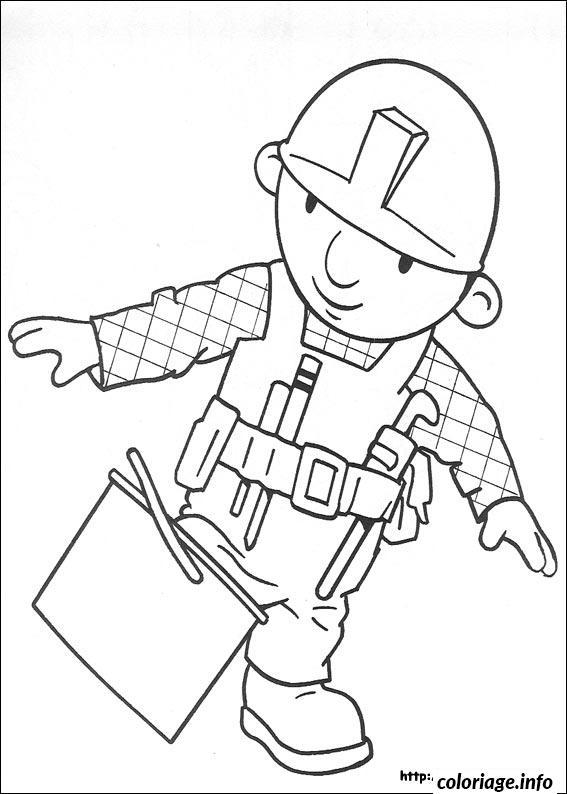 Dessin dessin bob le bricoleur 299 Coloriage Gratuit à Imprimer