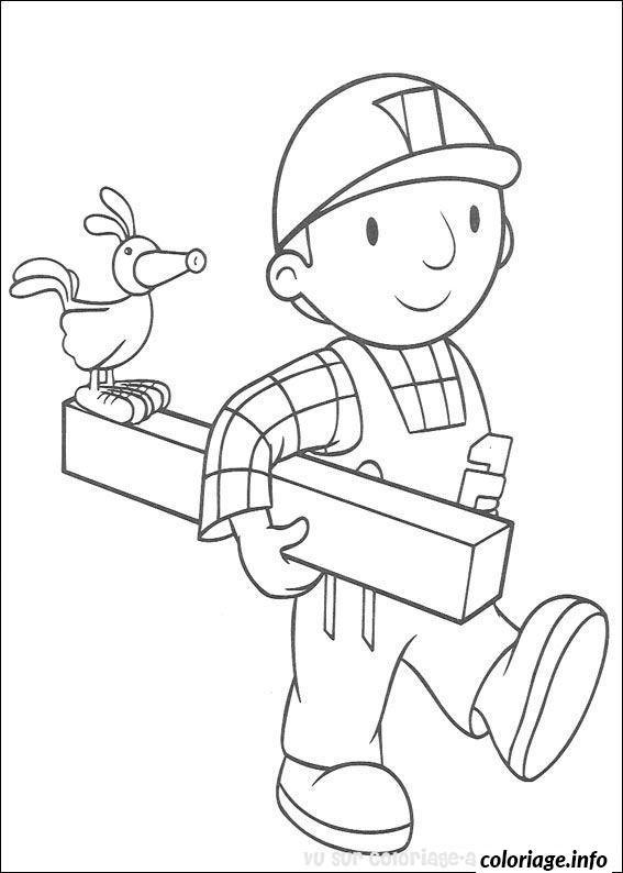 Coloriage dessin bob le bricoleur 197 dessin - Bricoleur dessin ...