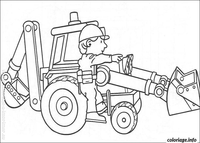 Coloriage dessin bob le bricoleur 287 dessin - Bricoleur dessin ...